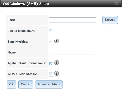 10  Sharing — FreeNAS®11 2-U3 User Guide Table of Contents