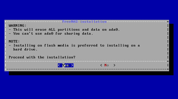 2  Installing and Upgrading — FreeNAS®11 2-U3 User Guide Table of