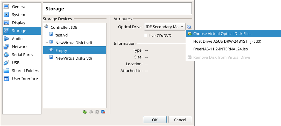 2  Installing and Upgrading — FreeNAS®11 2-U3 User Guide