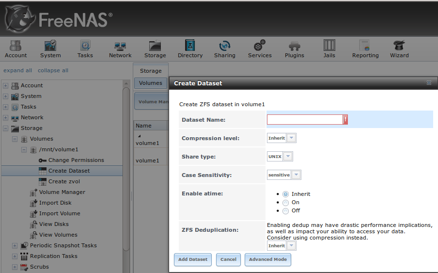 8 storage freenas user guide 9 3 table of contents for Zfs pool design
