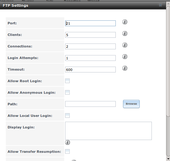11  Services Configuration — FreeNAS User Guide 9 3 Table of Contents