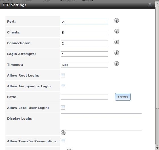 InterWorx Server Administrator FTP Guide screenshot