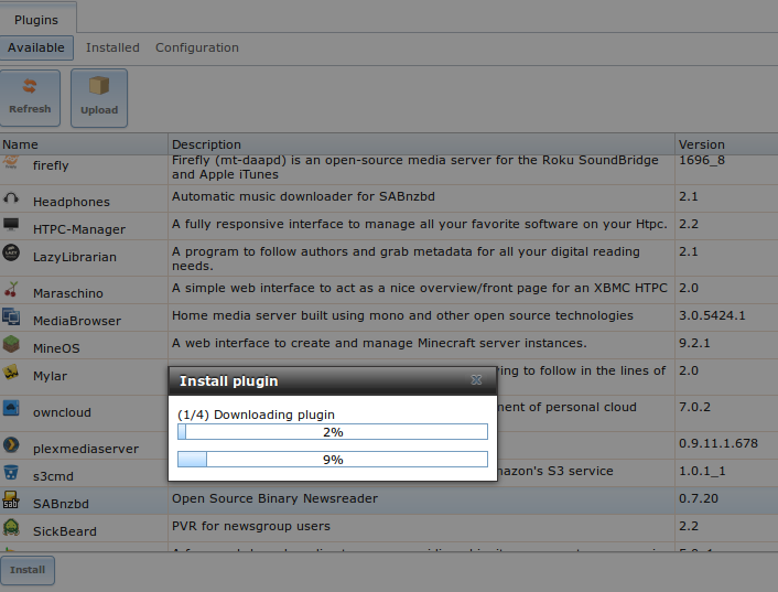 12  Plugins — FreeNAS User Guide 9 3 Table of Contents