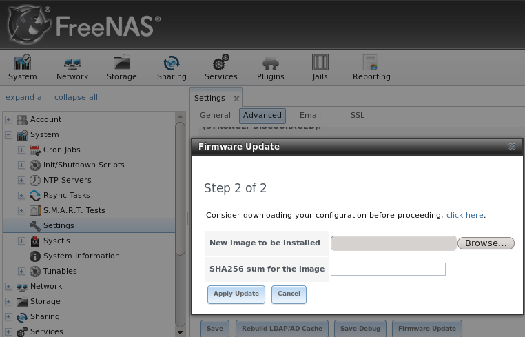 2  Installing and Upgrading FreeNAS® — FreeNAS User Guide 9 3 Table