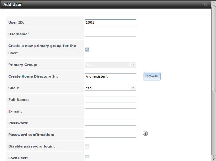 4  Account — FreeNAS User Guide 9 3 Table of Contents