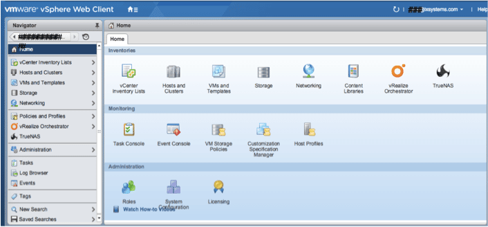 vCenter Web Client Plug-in for TrueNAS Now Available
